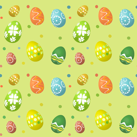 seamless tile: Seamless tile Easter egg pattern background