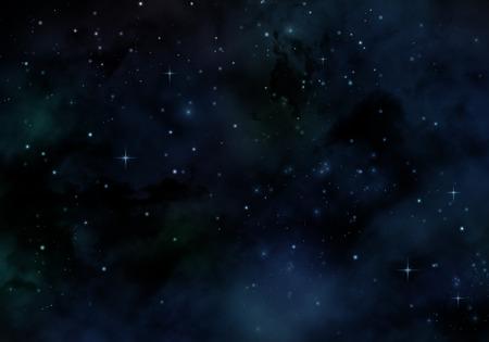 stars sky: Night sky background with nebula and stars