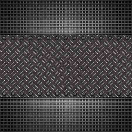aluminium texture: Abstract background with metal plate texture Stock Photo