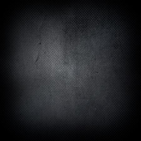 Dunkle Grunge-Stil perforierten Metall-Hintergrund
