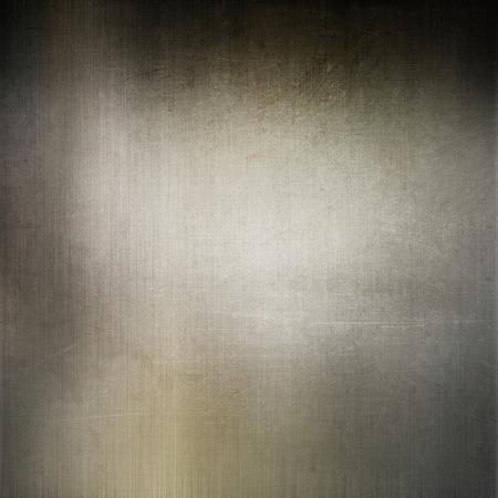 brushed metal background: Grunge style brushed metal background Stock Photo