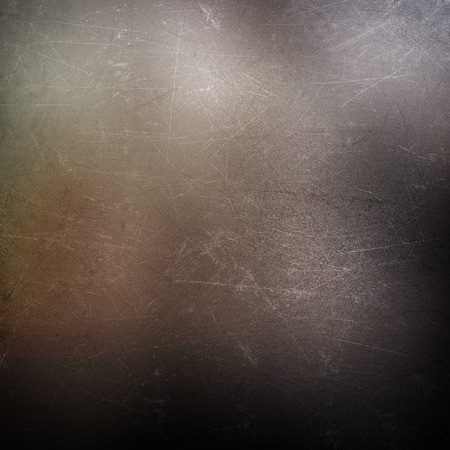 scratches: Metallic background with scratches and stains Stock Photo