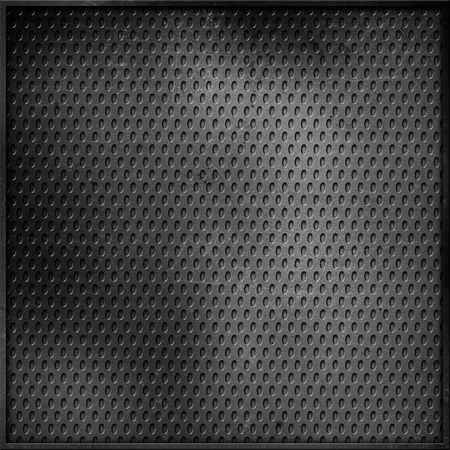scratches: Perforated metallic background with scratches