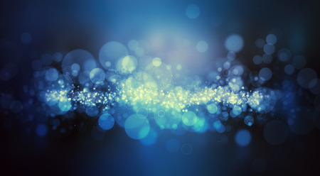 Abstract background with sparkle bokeh lights design