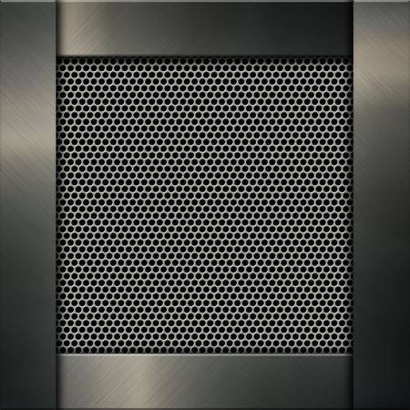 aluminium background: Metallic background with aluminium and brushed metal design