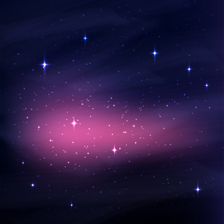 skies: Abstract space background with stars