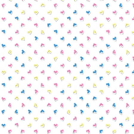 styled: Cute retro styled pattern background