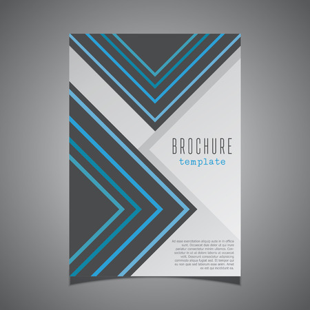 adverts: Modern design for a business brochure cover
