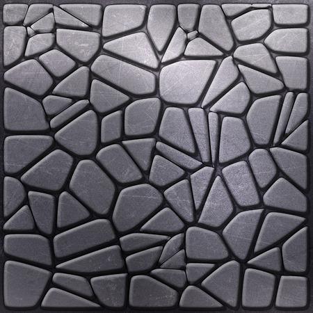 pebble: Metallic background with pebble like shapes Stock Photo