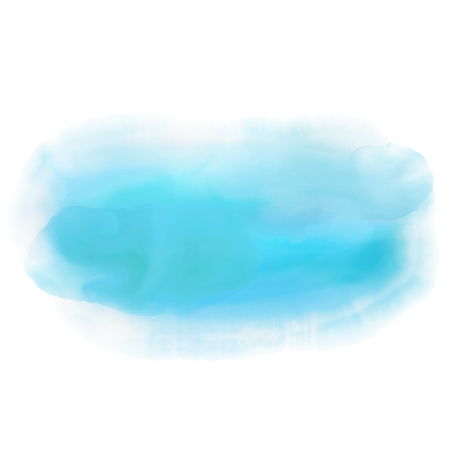 emo: Abstract background with a blue watercolor design Stock Photo