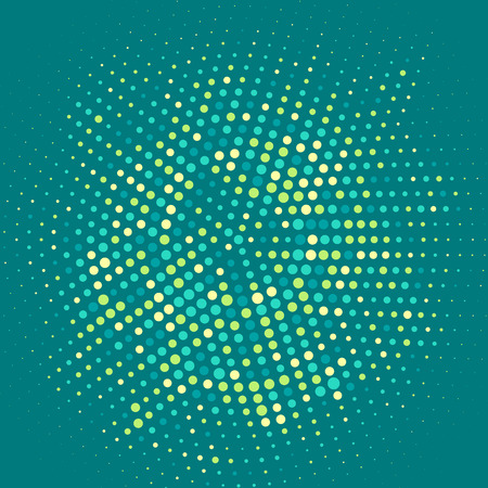 dynamic movement: Abstract background with halftone dots design
