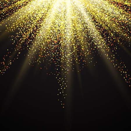 glittery: Decorative background with a glittery starburst design Stock Photo