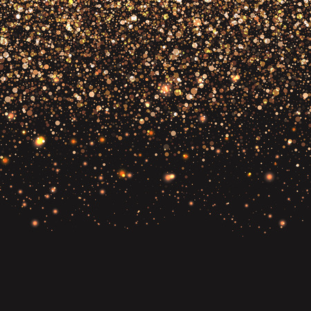 Background of gold confetti Stock fotó