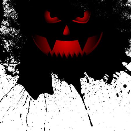 halloween background: Grunge style Halloween background