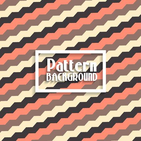vintage patterns: Pattern background with a zig zag design Stock Photo