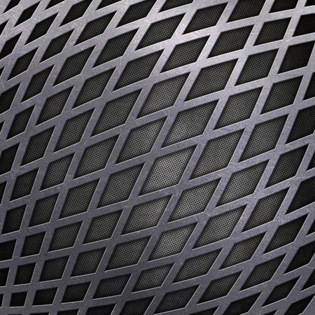 aluminium texture: Abstract background with a metallic design Stock Photo