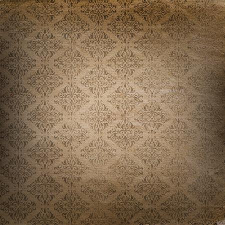 Grunge stijl achtergrond met een Damast patroon
