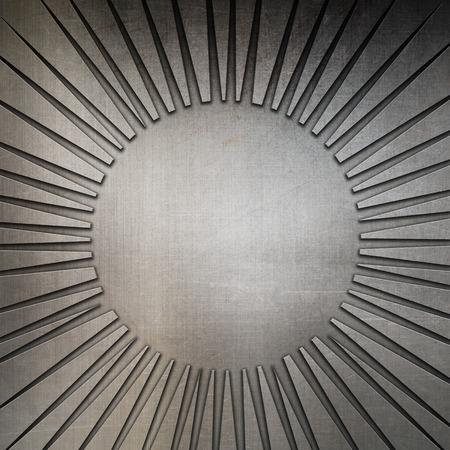 aluminium texture: Abstract background with a metallic texture Stock Photo