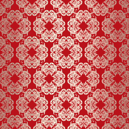 elegant wallpaper: Wallpaper background with an elegant pattern design Stock Photo