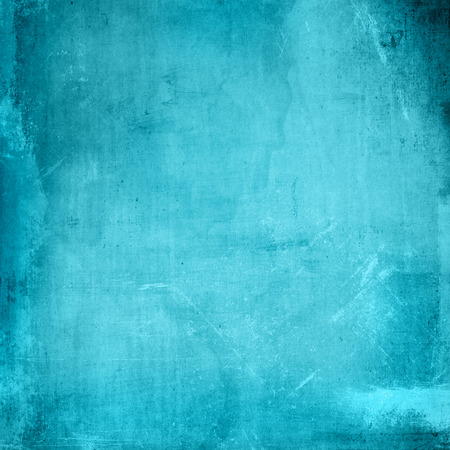 Detailed grunge style texture background in blue Stock Photo