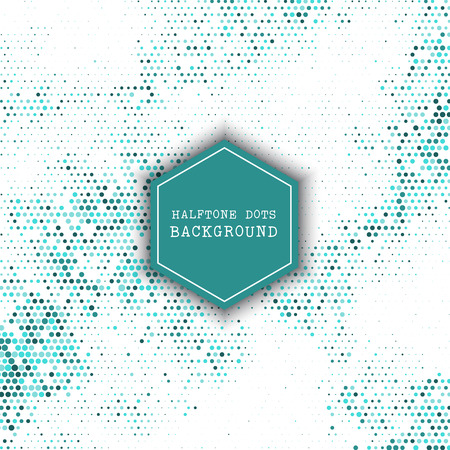 Abstract background with halftone dots background