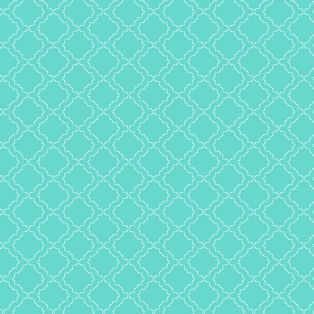 Decorative pattern background in teal colour Stock Photo