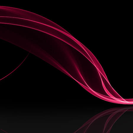 Abstract flowing background with silk like shape Stock Photo