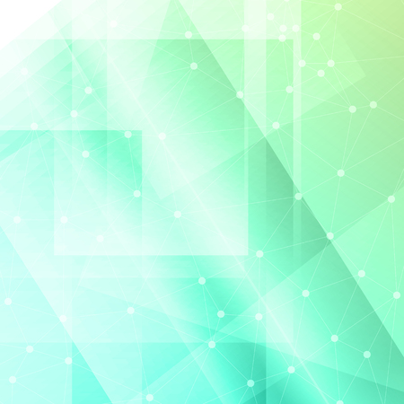 Abstract background with a low poly design Stock Photo