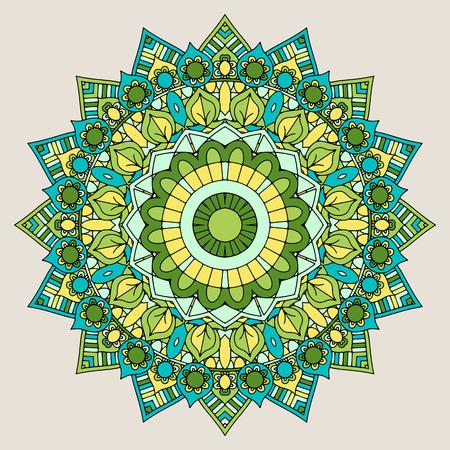 Decorative mandala design background