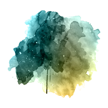 Grunge style painted watercolour background Фото со стока