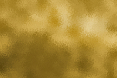 Metallic background with a golden foil texture