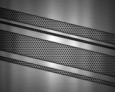 Abstract metallic texture background Imagens