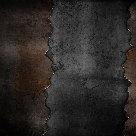 Grunge style rusty metal background