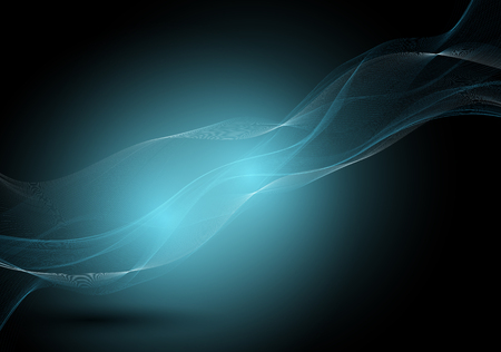 Abstract background of elegant flowing lines