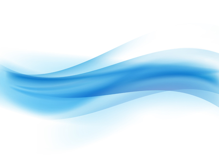 Abstract background with a blue waves design