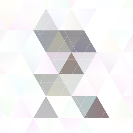 Scandinavian style abstract triangular art  Imagens