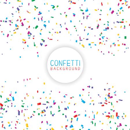 Celebration background of colourful confetti