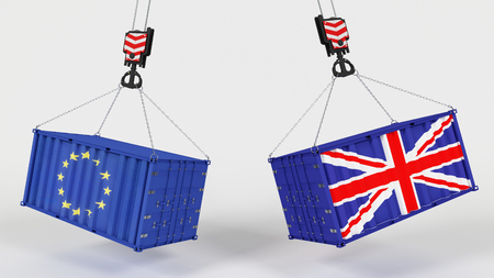3D Render of UK Trade Import Tarrifs