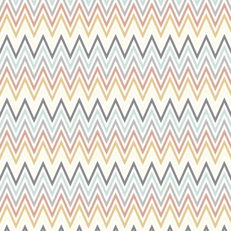 scandinavian style art with chevron pattern design