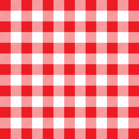 Pattern background with a red and white gingham design