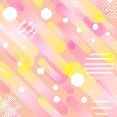 Abstract background with a retro styled design