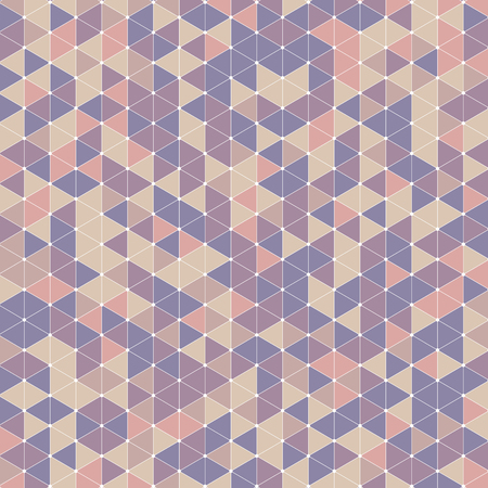 Retro style background with a triangle pattern