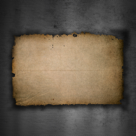 Abstract background with a metallic design and an old grunge paper texture