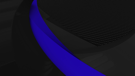 3D Render of Colour accent corporate presentation background
