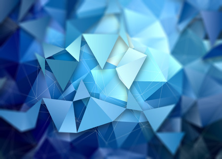 3D style abstract low poly design background Фото со стока