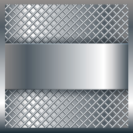 Abstract background with a silver metal texture Banco de Imagens