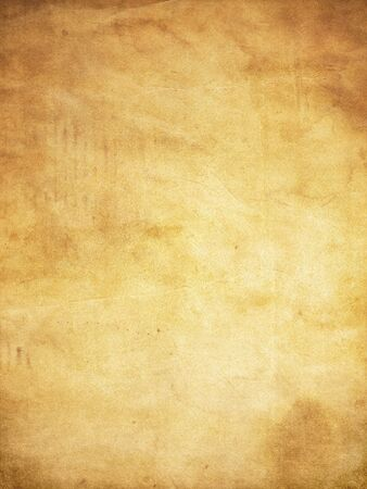 Grunge style paper background with stains and creases Banco de Imagens