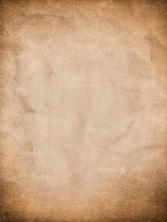 Grunge paper background with stains and scratches Banco de Imagens - 128113688