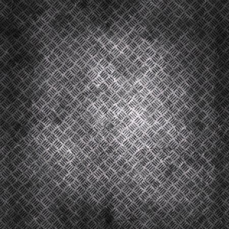 Grunge scratched metal plate texture background Banco de Imagens - 130055099