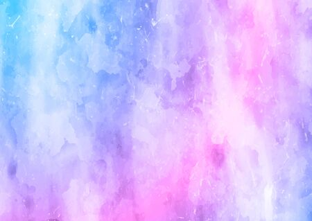 Detailed background with a painted watercolour texture Banco de Imagens